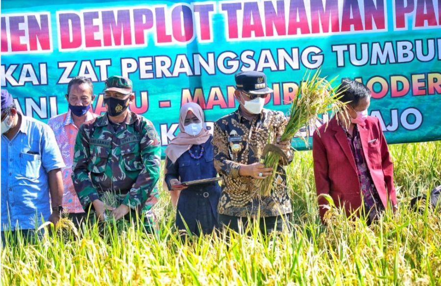 Gandeng Bank Mandiri, Bupati Wajo Upayakan Bantuan KUR Bagi Petani