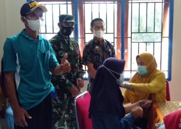 Wow, Hari ini Desa Mangeloreng memvaksin 470 warganya