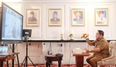 Abdul Hayat Gani Diskusi Virtual Bersama Dirjen Gakkum LHK RI