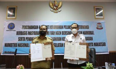BNN Sulsel dan Pemkot Makassar Komitmen Berantas Narkoba
