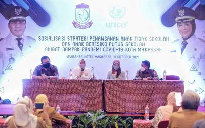 Bunda Paud Kota Makassar Paparkan Keinginan Wujudkan Pendidikan Berstandar International
