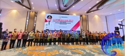 Bupati Basli Hadiri Rakorwasda dan Pengukuhan Pengurus AAIPI Sulsel