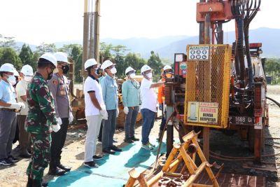 Bupati Lutim Launching Persiapan Pembangunan RTH Dan BBG