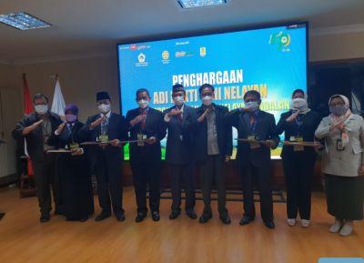Bupati Wajo Terima Penghargaan Nasional Dari KTNA Di Kementerian Pertanian