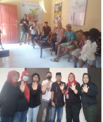 GANN Sulsel Bersama Indrawan Mengunjungi Kampung Narkoba