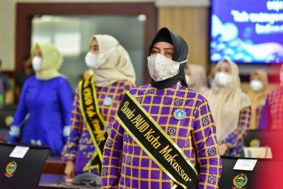 Hadiri Rakor dan Advokasi, Bunda Paud Makassar Komitmen Percepat Stunting