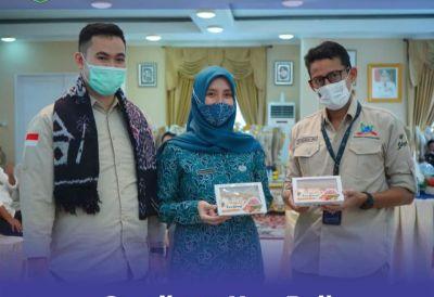 Menteri Sandiaga Salahuddin Uno Berkunjung Ke Pangkep