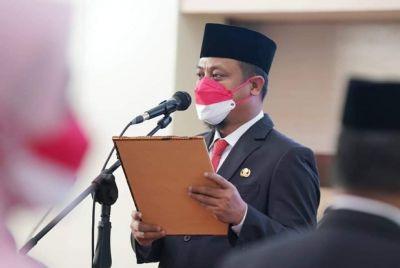 PLT Gubernur Sulsel Andi Sudirman Sulaiman Tunjuk 4 OPD Yang Kosong