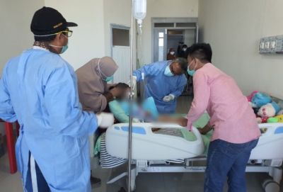 PLT Gubernur Sulsel Arahkan Tim Ahli Kesehatan Pemprov Cek Kondisi AP