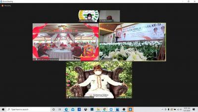Plt Gubernur Sulsel Hadiri Hari Jadi Toraja Utara Secara Virtual