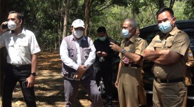 Wakil Bupati Pangkep Bersama Tim Assesor Tinjau Geosite
