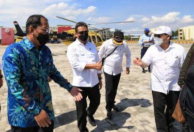 Walikota Makassar dan Menteri Kelautan Kunjungi Pelabuhan Untia